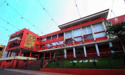Fachada de la sede partidaria de la ANR. (Foto Gentileza)