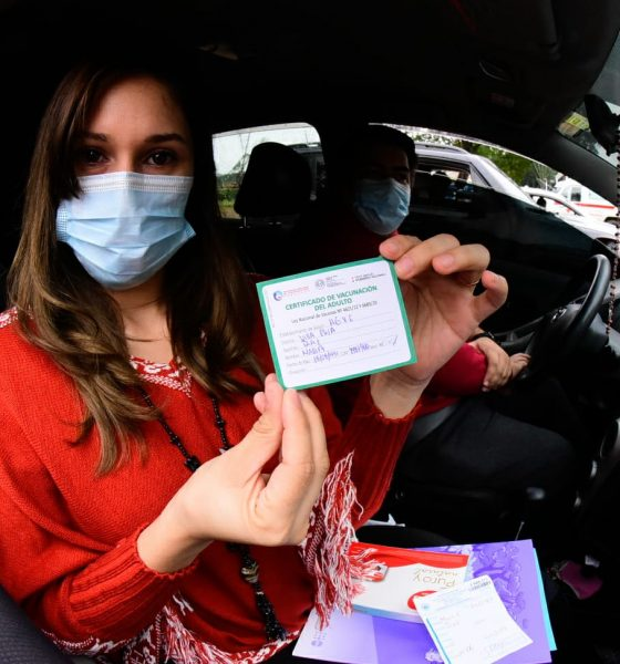 Tarjeta de vacunación. Foto: Archivo.