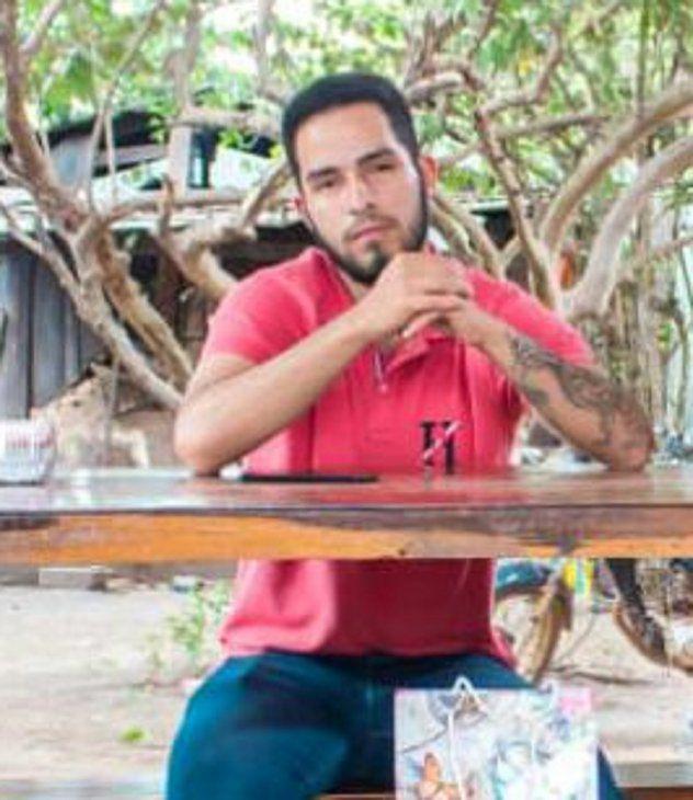 El joven Jorge Ríos, secuestrado en la zona de Concepción. Foto: Gentileza.