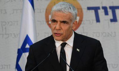 El ministro israelí de Relaciones Exteriores, Yair Lapid. Foto: Times of Israel.