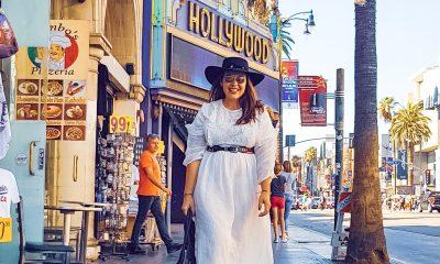 Srita. Méndez en Los Ángeles. Foto. Gentileza Blog Florencia Méndez.