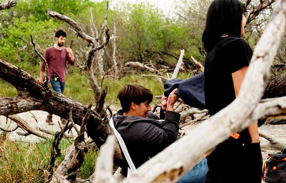 """Rodaje de """"La hamaca paraguaya"""" dirigida por Paz Encina (imagen ilustrativa)"""