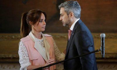 Silvana López Moreira y Mario Abdo se encuentran consternados ante la incertidumbre. Foto: Archivo.