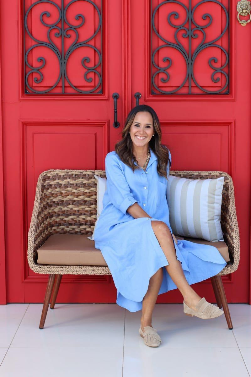 Viviana Mendoza, creadora de Florencia. Foto: Gentileza.