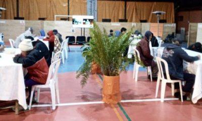 En operativo invierno de la SEN se habilitará el albergue modo Covid-19, en la sede de la Asociación Cristiana de Jóvenes de Asunción. Foto SEN
