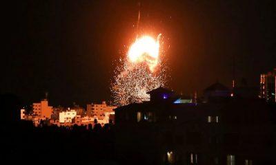 Israel volvió a atacar posiciones de Hamas en la Franja de Gaza. Foto: Agencias.