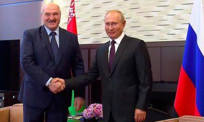 Lukashenko y Putin en Sochi, Rusia. Foto: elperiodico.com