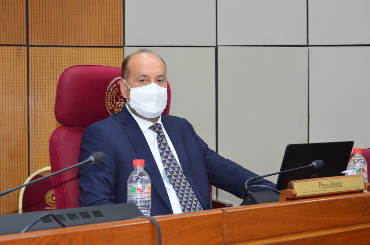 Oscar Cachito Salomón. (Foto Senado).