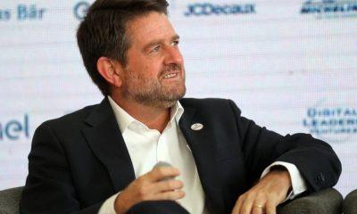 el candidato a gobernador por Santiago, Claudio Orrego. Foto: Infobae.
