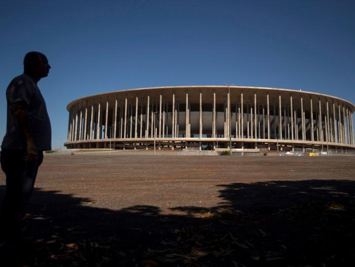 Estadio Mané Garrincha, una de las cuatro sedes de la Copa América 2021. Fuente: Portafolio.