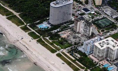 Derrumbe en Miami. Foto: Agencias.