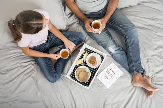 Ideas para compartir con papá un desayuno especial en su día. Foto: Ilustración Imagen de uso libre.