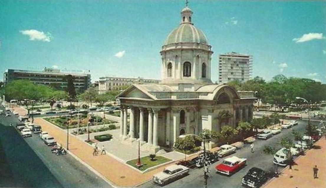 Panteón Nacional de los Héroes, decáda de 1960. Cortesía