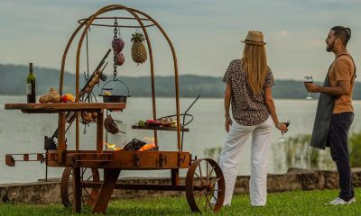 Parrilla, elemento clave para vacaciones al aire libre. Foto: La Buscada (Gentileza).