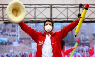 Pedro Castillo, es el nuevo presidente de Perú. Foto: milenio.com