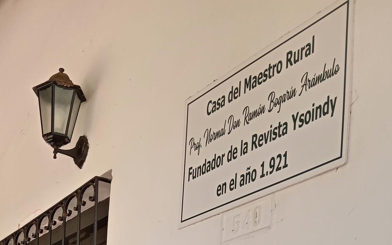 Casa Museo Bogarín Arámbulo. Cortesía