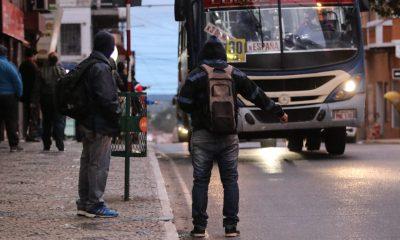 Transporte público. Foto: Agencia IP