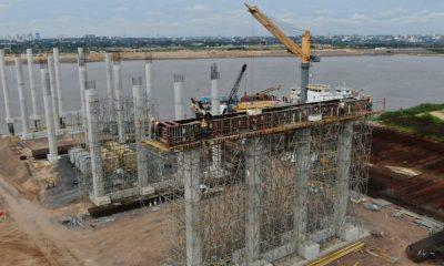 La nueva infraestructura vial incluye un tramo de viaducto, para proteger el hábitat del lecho del río. Foto: Gentileza.