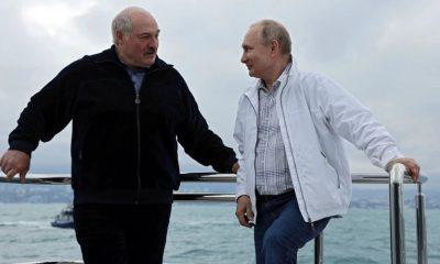 Rusia anunció días atrás un préstamo millonario a Bielorrusia. Foto: Infobae.