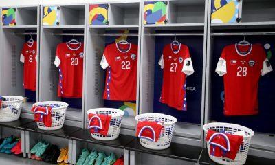 De momento, ya se busca un nuevo patrocinador para la camiseta de Chile. Foto: La Tercera.