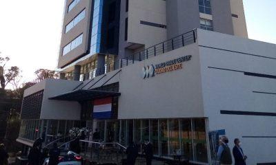 La primera torre inaugurada es un edificio de doce pisos con 46 oficinas. Foto. Gentileza.