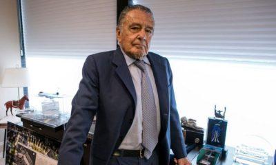 El empresario argentino Eduardo Eurnekian retornó a la lista Forbes. Foto: Getty.