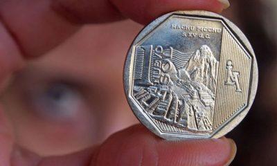 Moneda de sol peruano. Foto: Getty.