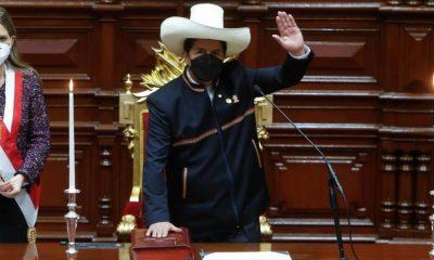 Pedro Castillo, nuevo presidente de Perú. Foto: hispantv.com