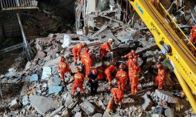 Los derrumbes de edificios y los accidentes son frecuentes en China, debido en gran parte a que no se respetan las normas de construcción. Foto: DW.
