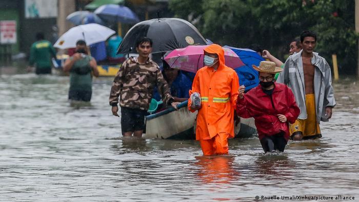 Las regiones más afectadas son Calabarzon, al sur de Manila, y Mimaropa, en la isla de Palawan. Foto: Picture Aliance.