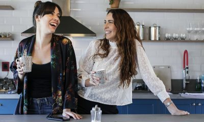 Cecilia Canillas y Lara Tomassi. Foto: Laura Mandelik.