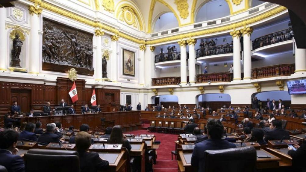 Congreso de Perú. Foto: Télam.