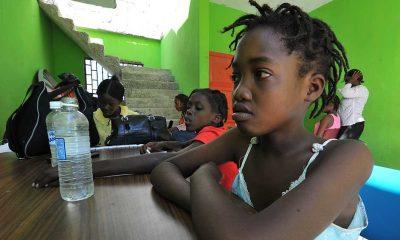 Haití era hasta esta semana el único país de las Américas sin ninguna dosis de vacuna contra la Covid-19. Foto: Télam.