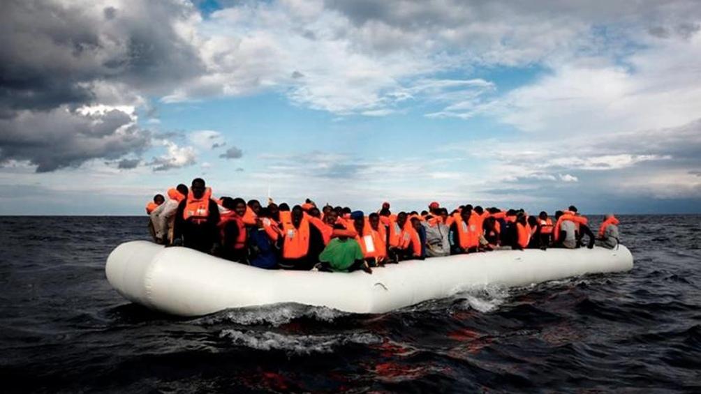 """Para Amnistía Internacional, """"criminalizar a las personas sólo por intentar llegar a un lugar seguro es indefendible"""". Foto: Télam."""
