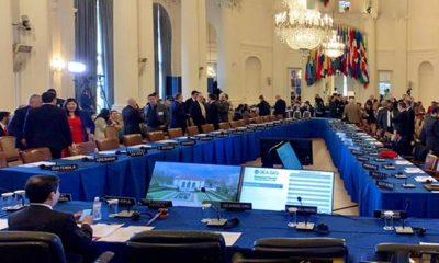 Consejo permanente de la OEA. Foto: Télam.