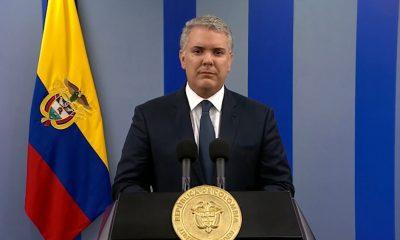Iván Duque, presidente de Colombia. Foto: Télam.