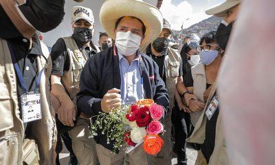 Pedro Castillo niega las acusaciones y dice que se someterá a cualquier investigación. Foto: Télam.