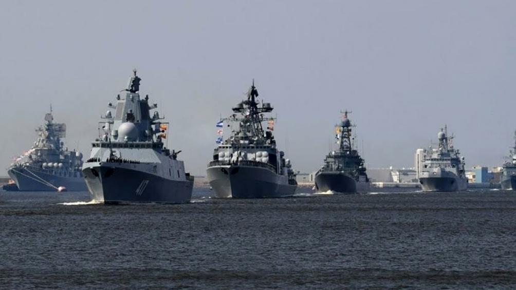 Rusia demostró su poder militar.Foto: Télam.