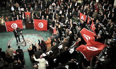 Parlamento de Túnez. Foto: Télam.
