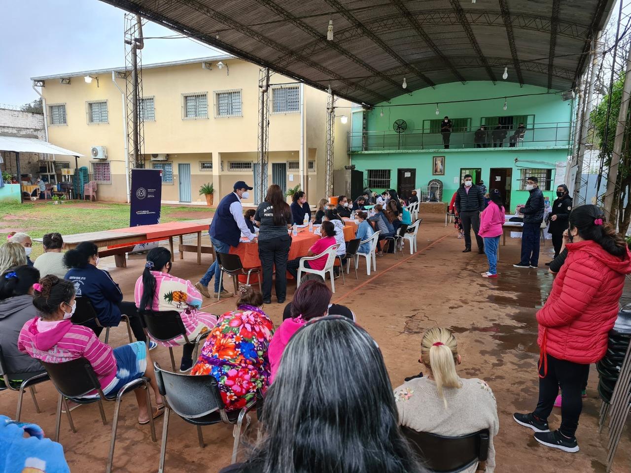 Centro Penitenciario para Mujeres Juana María de Lara de Ciudad del Este. Foto: Gentileza.