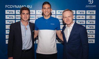 El zaguero compatriota, Fabián Balbuena, fue presentado oficialmente como nuevo jugador del Dynamo de Moscú. Foto: Gentileza.
