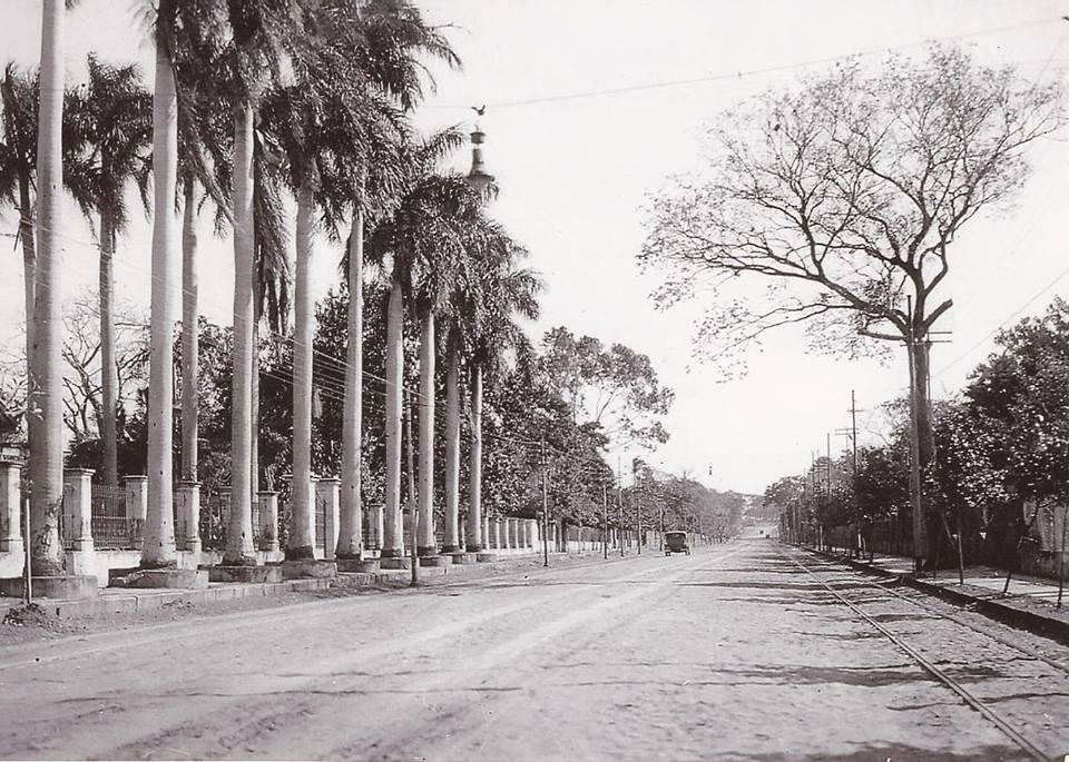 Avenida Colombia, Asunción, ca. 1920. Cortesía