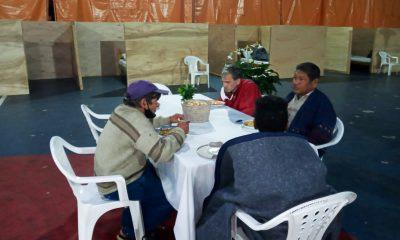 El albergue de la SEN recibió a 26 personas en la última noche. Foto: Gentileza.