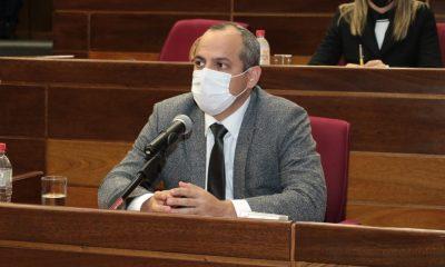 Camilo Benitez contralor general de la republica. (Foto Gentileza).