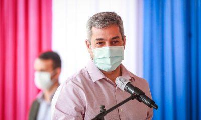 Mario Abdo Benítez, presidente de la República. (Foto Presidencia).