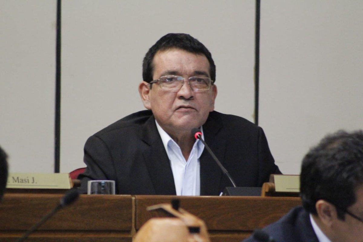 Senador Pedro Santa Cruz. (Foto Senado).