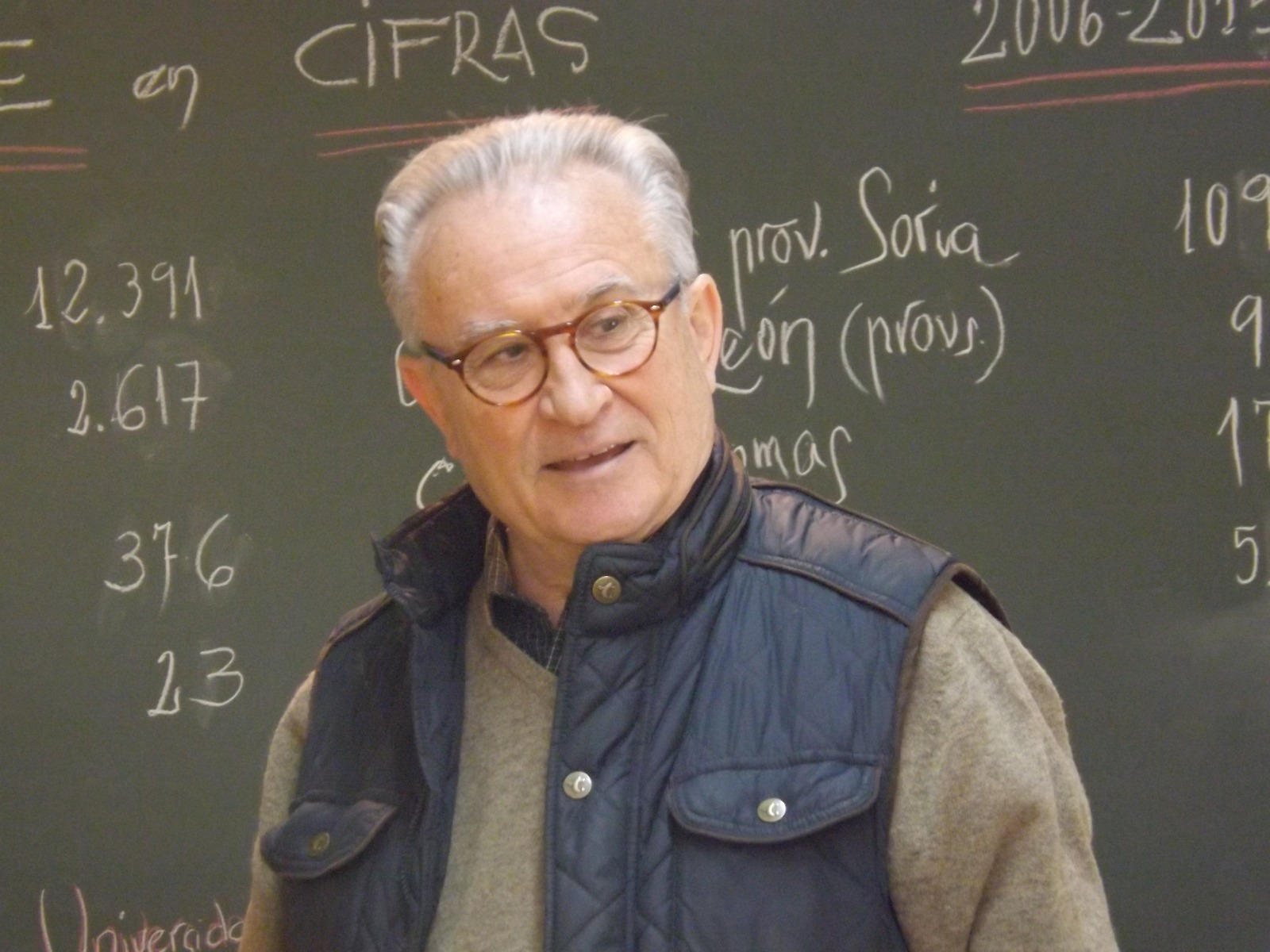 Agustín Escolano Benito. Cortesía ACAMFE
