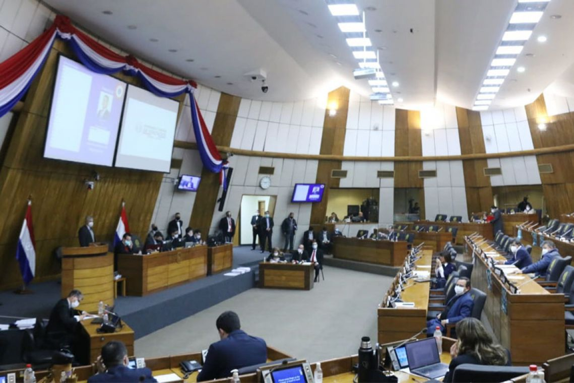 Cámara de Diputados. (Foto Gentileza)