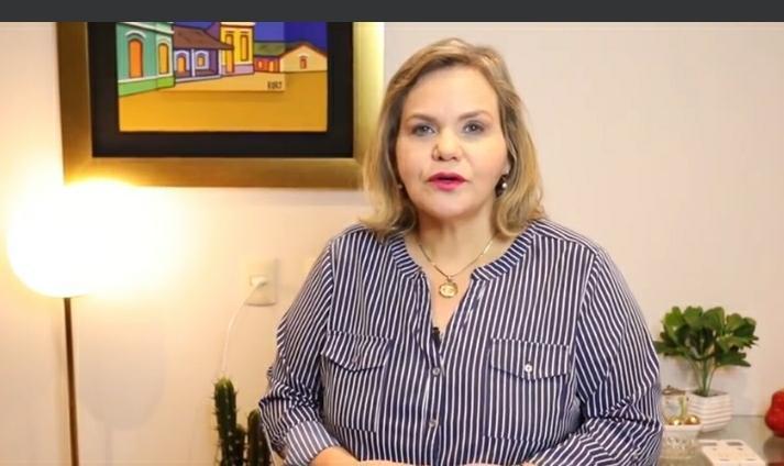 Lilian Samaniego, senadora. (Foto Captura de video).