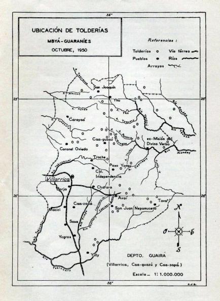 León Cadogan, Mitología en la zona guaraní, América Indígena, Vol. XI-3, México, 1951